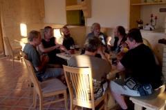 Večerní povídání u piva