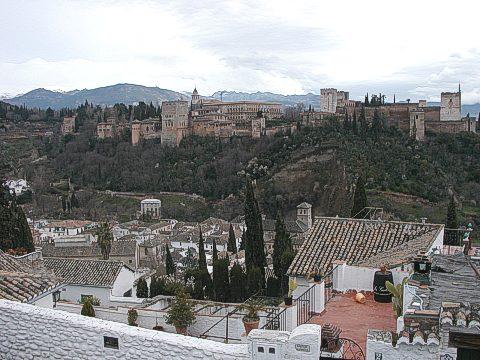 Palácový komplex Alhambra
