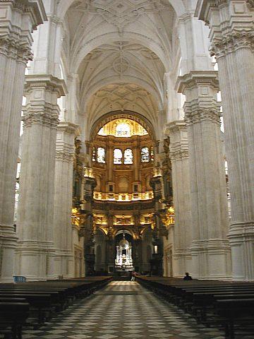 V granadské katedrále