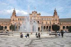Plaza de Espaňa (vybudováno pro světovou výstavu v r.1929)