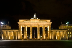 Brandenburská brána z jiného pohledu