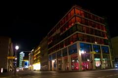Noční Leipziger Strasse