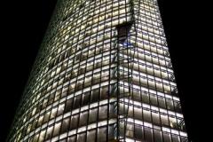 Osvětlená DB Tower