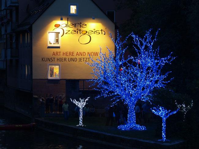 Modrý strom