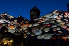 Osvětlený hrad