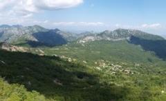 V Černé hoře jsou nádherné hory. Sem si zajedu určitě i na kole