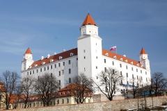 Bratislavský hrad v novém kabátu