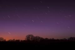 Noční obloha 3 (čas expozice 8 minut)