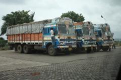 Typické indické kamiony