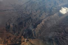 Pouštní hory někde v Íránu