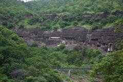 Skalní chrámy Ajanta zapsané do UNESCO