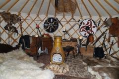 Tatarský stan (aspoň myslím)