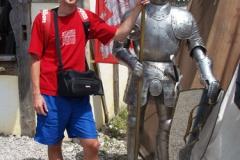 Tohohle rytíře jsem se nebál a vyfotil jsem se u něj