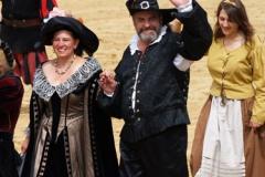 Představení téměr všech středověkých osob, které vyskytovaly v Kaltenbergu, trvalo nejméně hodinu