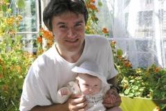 Já a malá Linda v Oldřichově