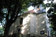 Bývalý větrný mlýn v Rumburku. Dnes je to kostel.
