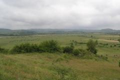Krajina za městem Agva