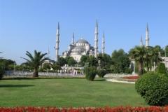 Modrá mešita (Sultanahmet Camii)