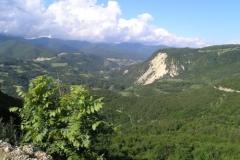 Opět nádherný výhled (608 m.n.m.)