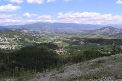 Pohled do údolí Mudurnu (1000m.n.m.)