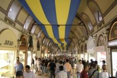 15.den- Velký bazar v Istanbulu