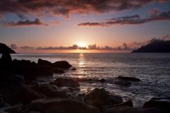 Západ slunce v Portském zálivu