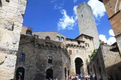 Město věží - San Gimignano v Toskánsku