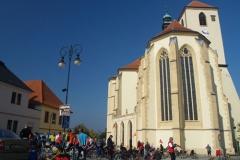V Boskovicích na náměstí