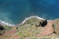 Cabo Girão - 2. nejstrmější útes v Evropě (580 metrů)