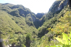 Vodopád u Levada do Risco