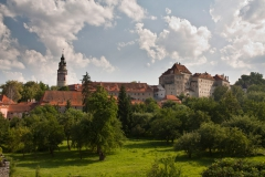 Český Krumlov a jeho panorama