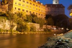 Zámek Český Krumlov a Vltava