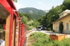 Výjezd parním vláčkem na horu Schafberg