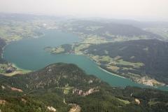 Výhled na jezero Mondsee