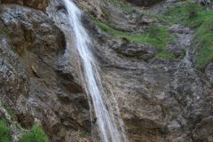 50 metrů vysoký vodopád u Attersee