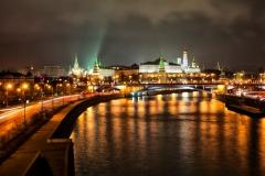 Pohled na Kremlin