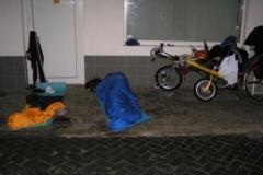 Noc u benzinky v Napajedlech