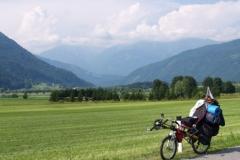 Údolí řeky Drávy
