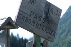 Passo del Cason di Lanza (1535 m.n.m.)