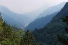 Údolí v Itálií