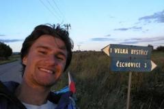 10.den - Ještě 1 kilometr a jsem doma.