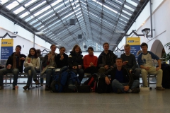 V Norimberku nám ujel vlak, tak čekáme na další