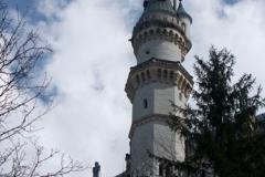 Jedna z mnoha věží Neuschwansteinu