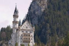 První pohled na Neuschwanstein