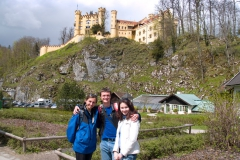 Hohenschwangau, dvě Veroniky a já