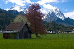 Krajina u Garmisch-Partenkirchenu