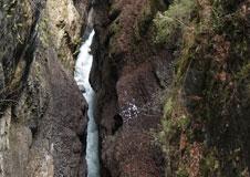 Soutězka řeky Partnach