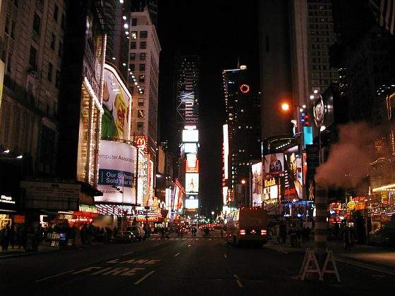 Times Square v noci