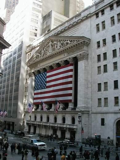 Burza na Wall Street