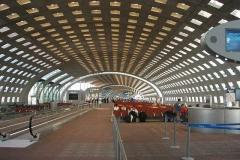 Letiště Charles de Gaulle, přestup na letadlo do New York City